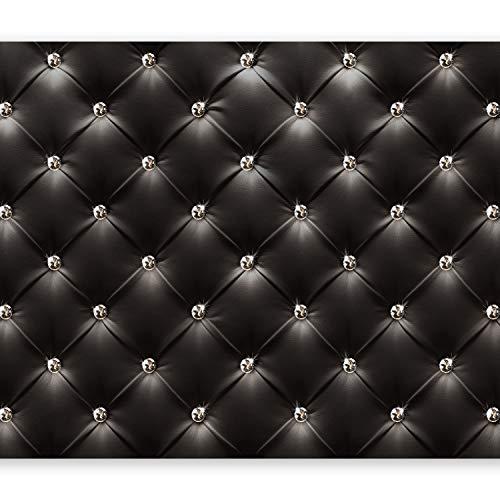murando - Papier peint intissé - 250x175 cm - Papier peint - Tableaux muraux - Déco - XXL- moderne noir f-B-0046-a-a
