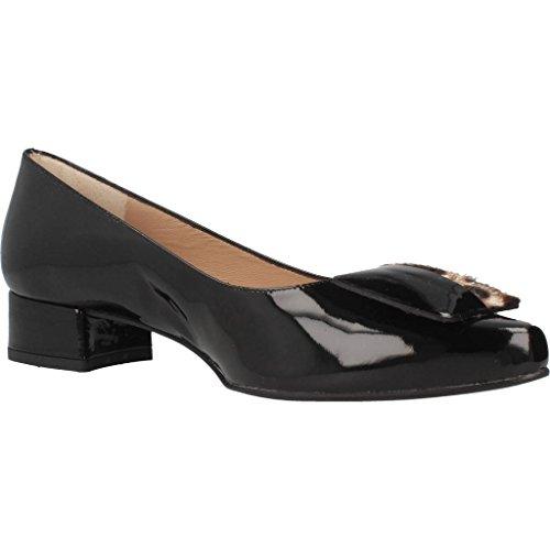 Ballerines, couleur Noir , marque PLATINO, modèle Ballerines PLATINO VERNICE Noir Noir