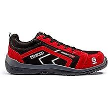 Sparco 0751838NRRS Zapatillas Negro/rojo