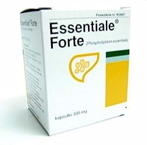 ESSENTIALE FORTE -60 caps - Liver Protection - Cirrhosis, Hepatitis, Steatosis