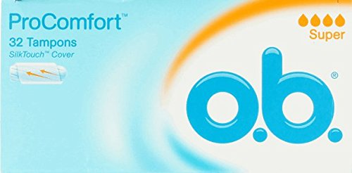 O.B. Pro Comfort Tampons, 32 Stück, Super