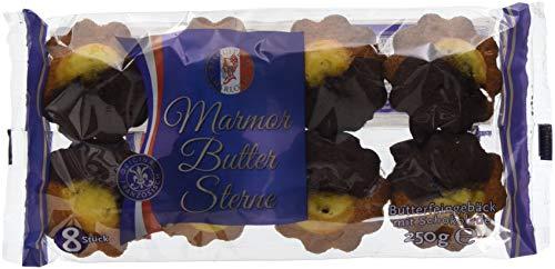 Biscuiterie Charlotte Gebäcksterne Marmor, 12er Pack (12 x 250 g) -