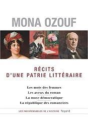 Récits d'une patrie littéraire : La France, les femmes, la démocratie