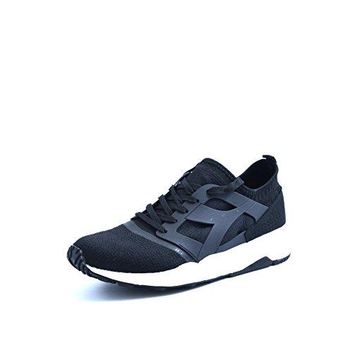 Diadora Unisex-Erwachsene Evo Aeon Sneaker Low Hals Schwarz