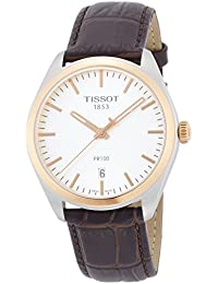 TISSOT PR100 GENT BR LEATHER WITH DIAL