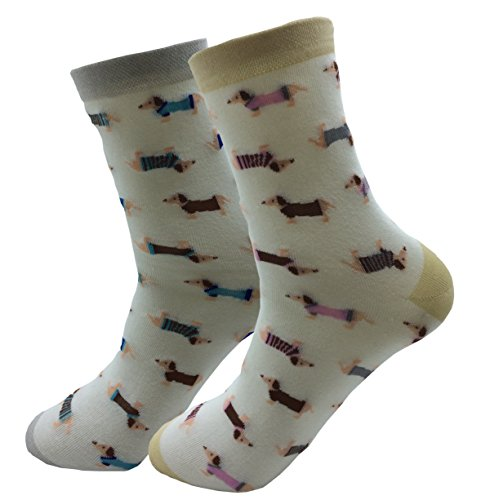 JMEETY® - 2 Paia Cartoon calzini - Calze - Donna (JMEETYSOCKS72)
