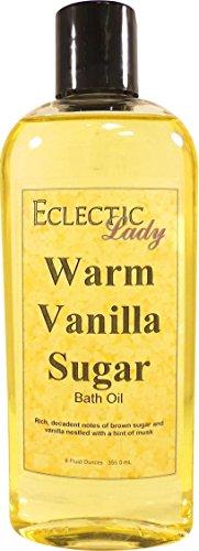 Eclectic Lady Warmer vanillezucker badeöl 8 unzen