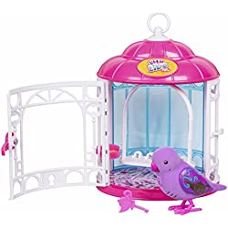 little live pets Pajaritos Parlanchines con Su Jaula. Serie 7. Dreamy Genie (Famosa 700013973)