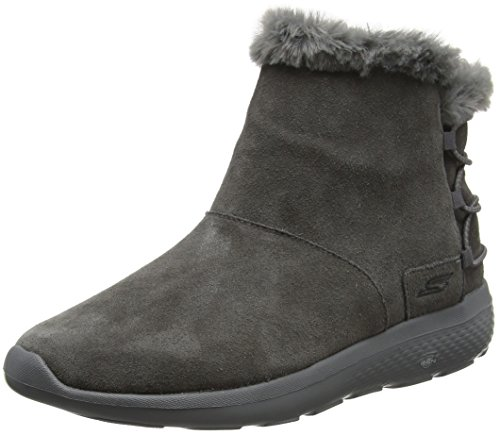 Skechers Damen on-The-Go City 2 Stiefel, Grau (Charcoal), 40 EU