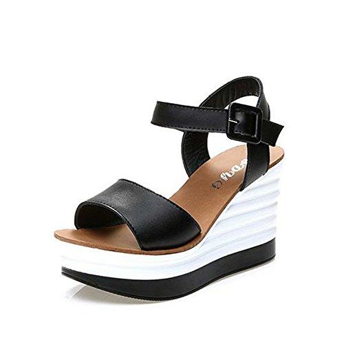 ZPPZZP Mme sandales vous détendre dans le style coréen l'été l'état sauvage 38EU
