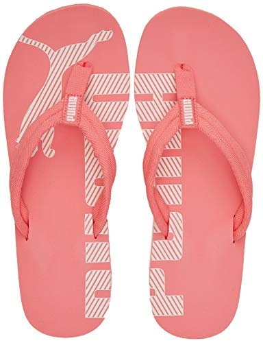 PUMA Unisex-Erwachsene Epic Flip V2 Dusch- & Badeschuhe, Pink (Sun Kissed Coral-Pink Rosewater 41), 38 EU