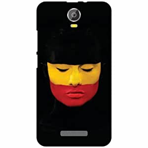 Micromax Canvas Juice 2 Back Cover - Silicon Face Up Designer Cases
