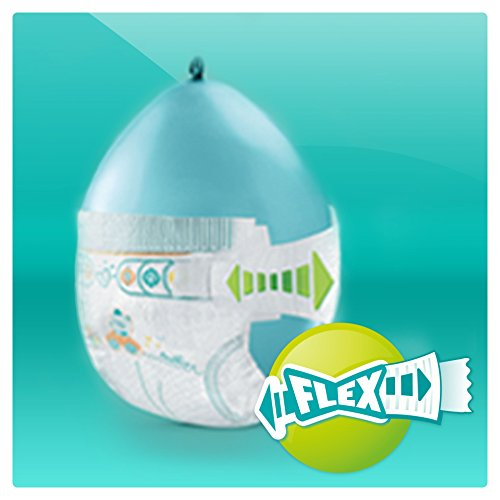 Pampers Windeln Baby Dry Gr. 4 Maxi 7-18 kg Monatsbox, 1er Pack (1 x 174 Stück) - 6