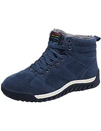Winter Schnee Stiefel männer Sneaker warme Bequeme Pelz gefüttert  atmungsaktiv leichte Mode Outdoor Wandern Wandern 9ee3fac47d