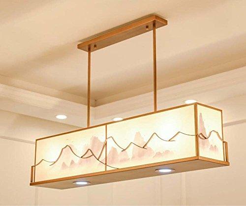 Retro Kronleuchter Rechteckigen Esszimmer Pendelleuchte Modernen  Minimalistischen Wohnzimmer Kreative Esstisch Wohnzimmer Schlafzimmer  Kronleuchter