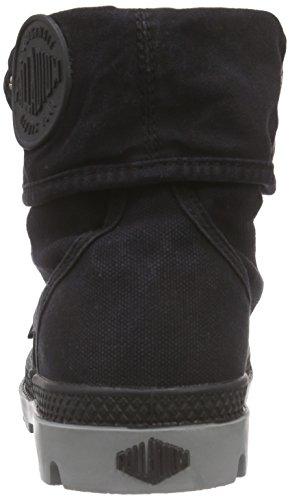 Palladium Baggy, Desert Boots Femme Noir (Black/Wild Dove)