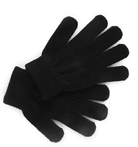 12-pairs-childrens-black-magic-winter-gloves-one-size