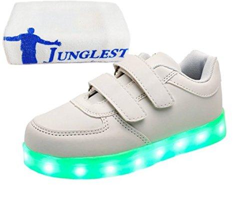 erwa C28 Top Für Led Usb Turnschuhe Unisex High junglest® Sneaker Leuchtend Aufladen Schuhe Sportschuhe kleines 7 Farbe present Sport Handtuch xqwHaUUO