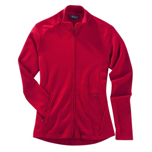 Ibex Outdoor Bekleidung Damen Shak Full Zip II Jacke Red Ant