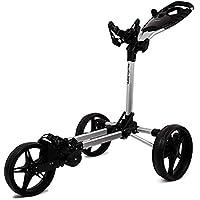tour made Haicaddy Travel Flat HC1 3-Rad Push-Trolley Golf-Trolley Golf-Caddy
