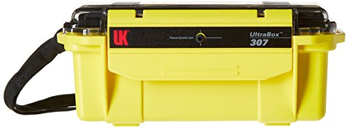 UK Lights 219760 Ultrabox 307 Coffre Jaune 20 cm 0,8 l