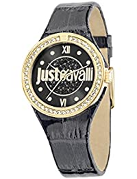 Just Cavalli Damen-Armbanduhr JUST SHADE Analog Quarz Leder R7251201501