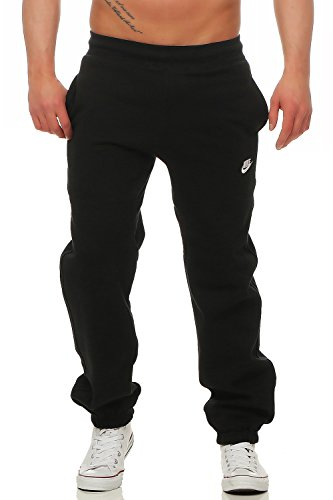 Nike Herren Brushed Fleece Pant, Hose Schwarz