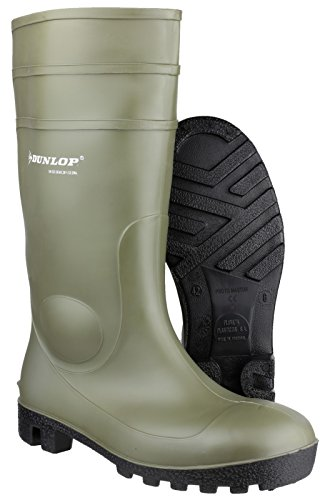 Dunlop FS1700/142VP Wellington Wellington de sécurité green