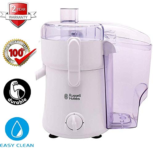 Russell Hobbs Juice Extractor - RJE40MAX - 400W Powerful Motor - Sharp Centrifugal Blade