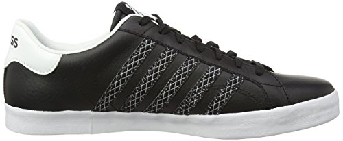 K-Swiss Herren Belmont So Low-Top Black (Schwarz/Weiß)