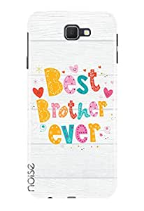 Noise Designer Phone Case / Cover for Samsung Galaxy A3 (2017) Duos / Samsung Galaxy A3 (2017) Edition Specially designed from the Popular Series of Quotes/Messages / Best Brother ever Design (TP-117)
