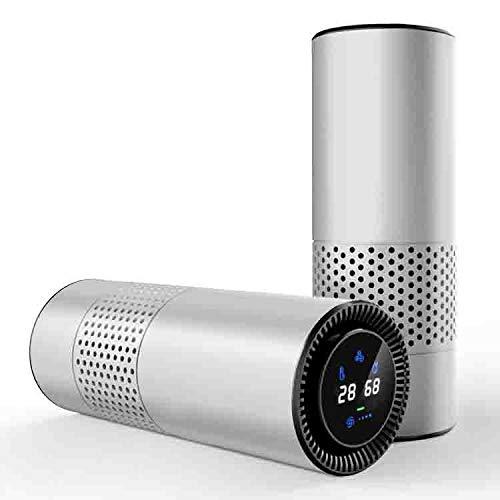 Kfz-Luftreiniger, Gestensteuerung, Zusätzlich Zu Formaldehyd-Geruchs Netz,Silver