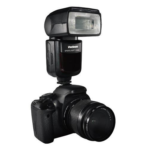 V200 Lcd (Voeloon V300 Display Wireless i-TTL Blitzgerät für Nikon)