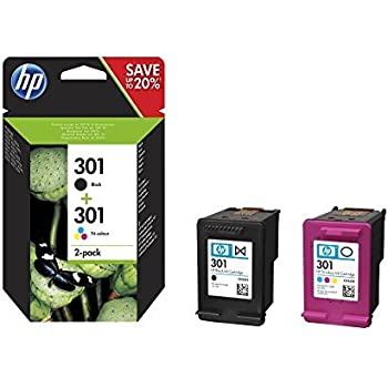 hp 302 2 pack black tri color original ink cartridges x4d37ae office products. Black Bedroom Furniture Sets. Home Design Ideas