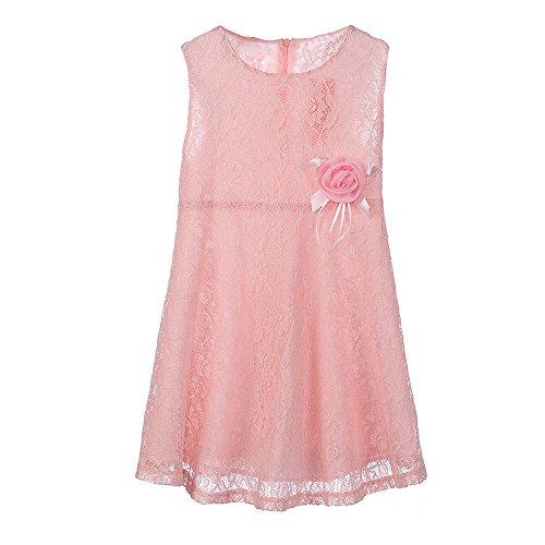 3262f1c7e Vestido para Niña Fiesta Primavera Verano 2019,PAOLIAN Vestido Bebe Niña  Princesa Boda Dama de