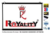 #6: Royality MAP Type Projector Screen by Royality industries (7 Ft.(Width) x 5 Ft.(Height) = 100'')