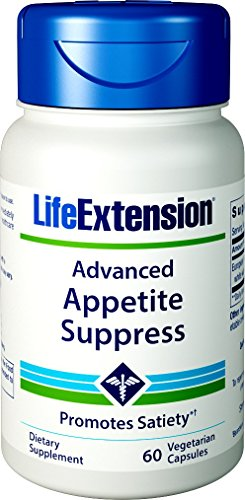 Life Extension Advanced Natural Appetite Suppress Vegetarian Capsules, 60 Count by Life Extension -