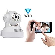 INKER IP Camera 720P Wireless WiFi di Sicurezza, IR-Tagli di