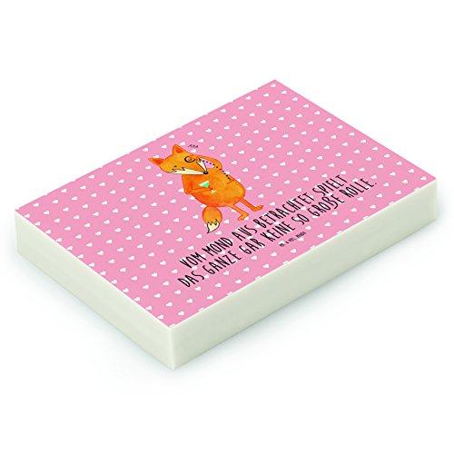 Mr. & Mrs. Panda Radiergummi Fuchs Lord - 100% handmade in Norddeutschland - Kautschuk, tröstende...