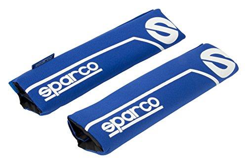 Sparco Spc SPC1200 Cuscino Modello Linea S Blu, Set di 2