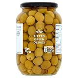 Morrisons Pitted Green Olives in Brine, 380 g