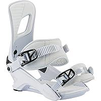 Nitro Snowboards Rambler Fijaciones, Hombre, Blanco (White), M