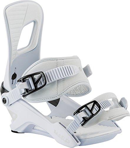 Nitro Snowboards Herren Rambler '18 Snowboard Bindung, White, M