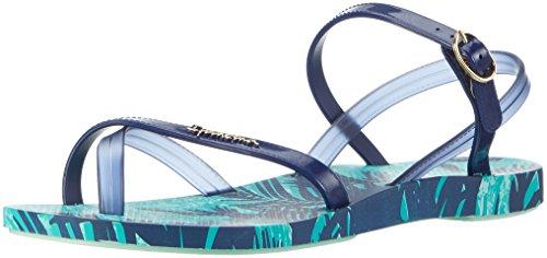 Ipanema Fashion Sand IV Fem, Infradito Donna Mehrfarbig (green/blue)