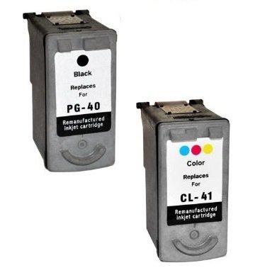Prestige Cartridge PG-40 CL-41 Pack de 2 cartuchos de tinta para Canon Pixma Serie, color y negro