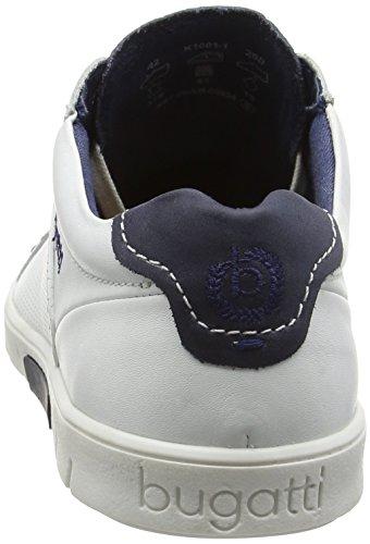 Bugatti 630281, uomini Slipper weiß