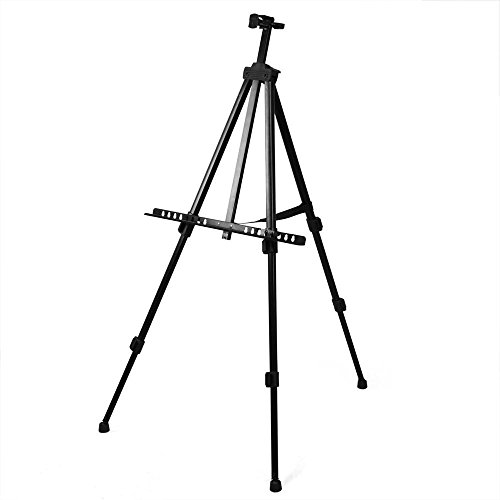 tinxs-professional-folding-artist-field-studio-telescopic-painting-stand-easel-display-tripod-carry-