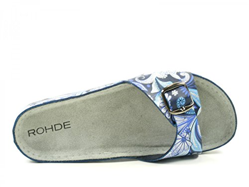 Rohde Riesa, Mules Femme Blau
