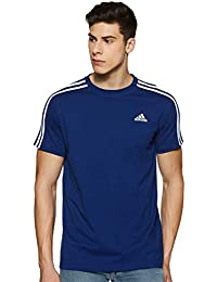 Adidas Men's Plain Regular Fit T-Shirt