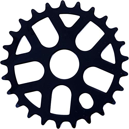 Bullseye Fahrrad Kettenblatt BMX 25 Zähne schwarz Stahl Kurbel 25T
